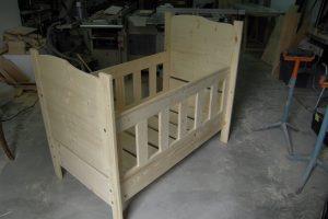 lit en bois enfant