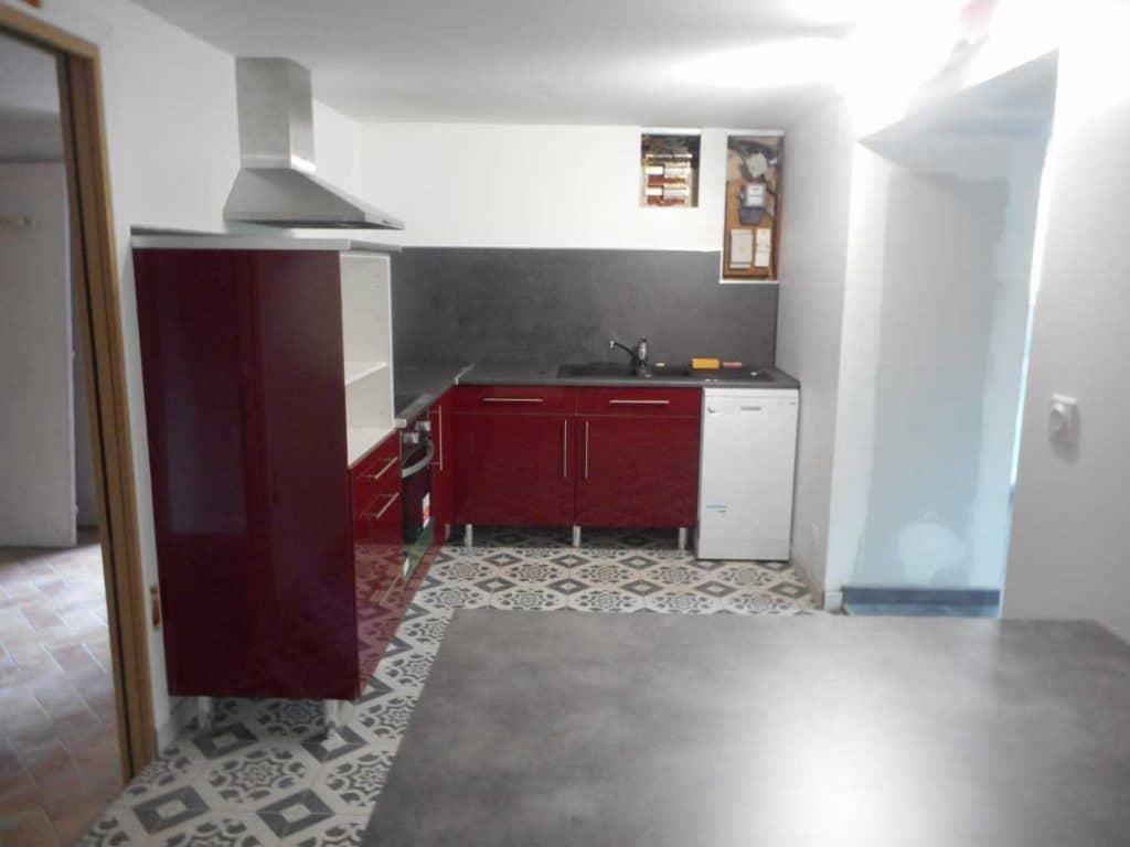 R novation d 39 un garage en appartement schillaci for Placo carrelage